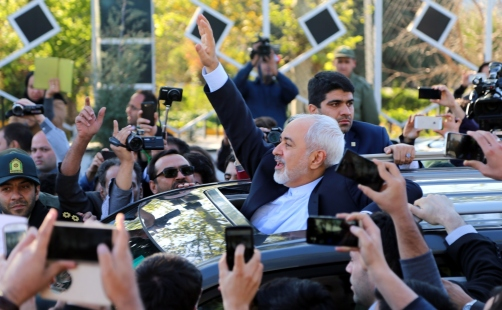 Iran's nuclear negotiating committee arrive in Tehran