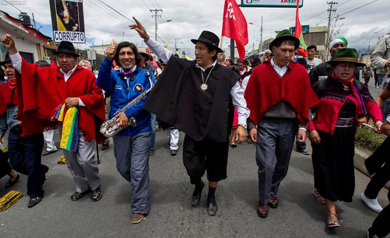 Levantamiento indigena 2015