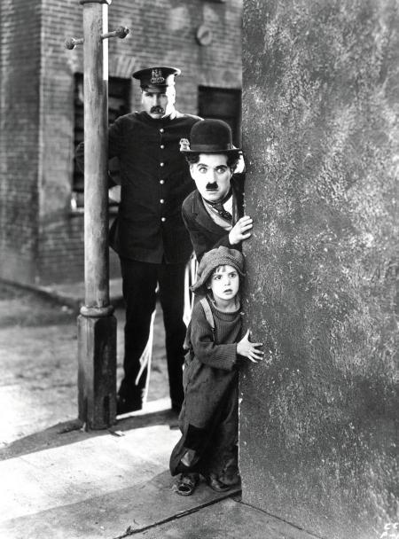 Charlie Chaplin - El Chico 1921 c