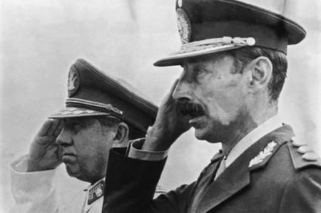 Jorge Rafael Videla, dictador argentino.