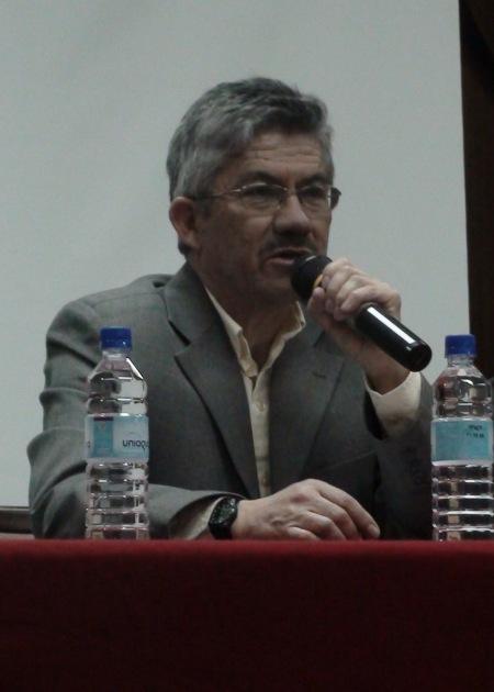 Napoleón Saltos Galarza, docente Universidad Central del Ecuador.