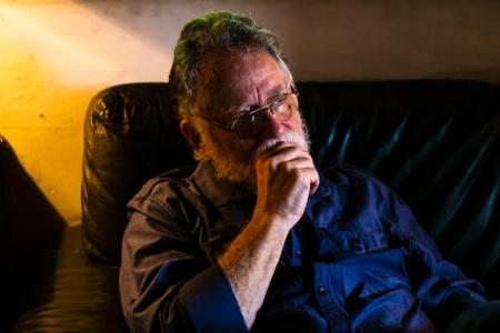 Edgardo Lander retratado por Gabriel Mendez