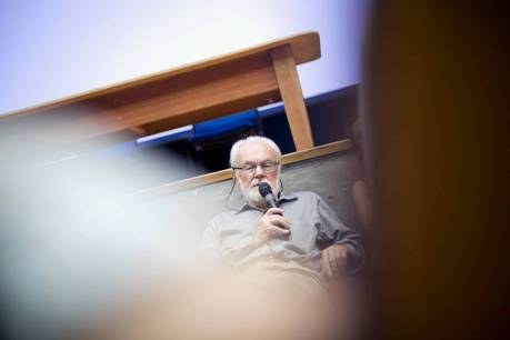 David Harvey. Foto: Edu León