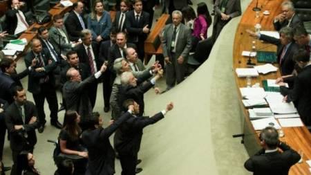 . La cámara de Diputados de Brasil postergó este jueves la votación sobre el proyecto de autoamnistía para delitos de corrupción.