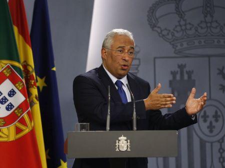António Costa tras su reunión con Rajoy el 14 de noviembre. Foto EFE