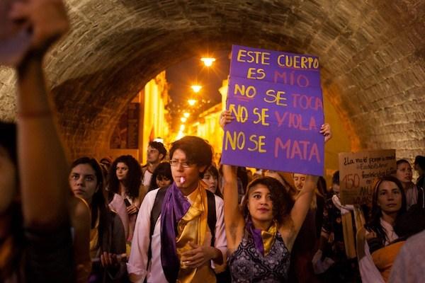 """Marcha """"Vivas nos queremos""""."""
