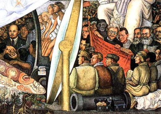 Despu s de un siglo la revoluci n rusa en los procesos for Diego rivera mural at rockefeller center