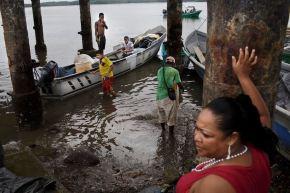 Mataje es uno de los ríos limítrofes entre Ecuador y Colombia. Es una de las principales rutas para el transporte de la droga, pues se encuentra en una de las zonas con más cultivos de coca en el mundo.