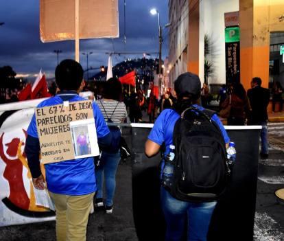 En Ecuador 10 500 denuncias de desapariciones se registran desde el 2014. De ellas, el 67% corresponden a mujeres. Foto: Mayra Caiza